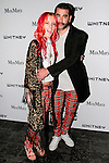 Chloe Norgaard and Harif Guzman attend the annual Whitney Art Party hosted by the Whitney Contemporaries, and sponsored by Max Mara, at Skylight at Moynihan Station on May 1, 2013.