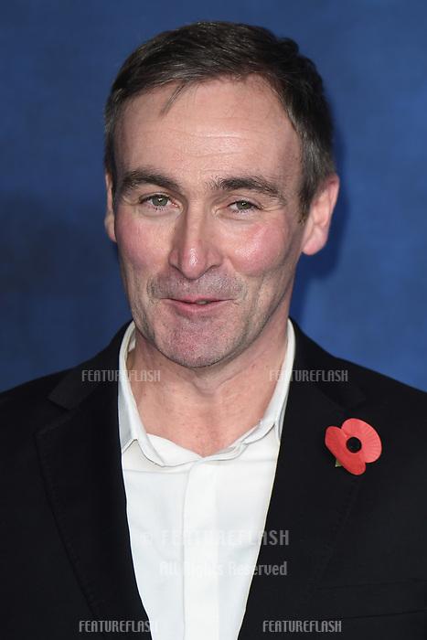 LONDON, UK. November 13, 2018: Derek Riddell at the &quot;Fantastic Beasts: The Crimes of Grindelwald&quot; premiere, Leicester Square, London.<br /> Picture: Steve Vas/Featureflash