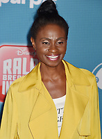 HOLLYWOOD, CA - NOVEMBER 05: Adina Porter attends the Premiere Of Disney's 'Ralph Breaks The Internet' at the El Capitan Theatre on November 5, 2018 in Los Angeles, California.<br /> CAP/ROT/TM<br /> &copy;TM/ROT/Capital Pictures