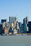 New York City, New York: Skyline of New York lower manhattan post 9-11.  .Photo #: ny225-14640  .Photo copyright Lee Foster, www.fostertravel.com, lee@fostertravel.com, 510-549-2202.