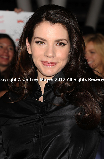 LOS ANGELES, CA - NOVEMBER 12: Stephenie Meyer arrives at 'The Twilight Saga: Breaking Dawn - Part 2' Los Angeles premiere at Nokia Theatre L.A. Live on November 12, 2012 in Los Angeles, California.