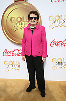 06 January 2018 - West Hollywood, California - Billie Jean King. 5th Anniversary &ldquo;Gold Meets Golden&rdquo; event held at The House on Sunset. 2018 Gold Meet Golden is a Hollywood Send-Off to the athletes competing in the upcoming PyeongChang Winter Games, with a special focus on Empowering Women in Hollywood &amp; Sport. <br /> CAP/ADM/FS<br /> &copy;FS/ADM/Capital Pictures