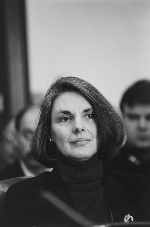 Senate Sergeant-at-Arms Martha Pope on Feb. 6, 1992. (Photo by Maureen Keating/CQ Roll Call via Getty Images)