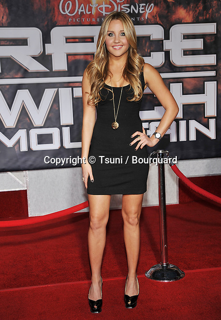 Amanda Bynes  -<br /> Race To Witch Mountain Premiere at the El Capitan Theatre In Los Angeles.