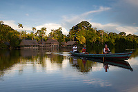 Travelers at Marasha Lodge and Reserve - Amazonas - Peru