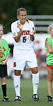 07 October 2007: NC State's Tami Krzeszewski. The Duke University Blue Devils defeated the North Carolina State University Wolfpack 1-0 at Method Road Soccer Stadium in Raleigh, North Carolina in an Atlantic Coast Conference NCAA Division I Women's Soccer game.