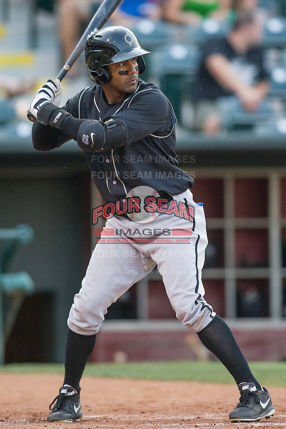 during the Pacific Coast League game against the at Chickashaw Bricktown Ballpark on June 23, 2013 in Oklahoma City ,Oklahoma.  (William Purnell/Four Seam Images)