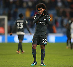 Willian of Chelsea celebrates the win during the premier league match at the John Smith's Stadium, Huddersfield. Picture date 12th December 2017. Picture credit should read: Simon Bellis/Sportimage