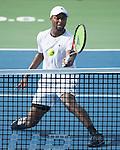 Donald Young (USA) defeated Ernesto Escobedo (USA) 6-3, 3-6