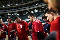 Equipo de los Mayos de Navojoa, durante juego de beisbol de la Liga Mexicana del Pacifico temporada 2017 2018. Tercer juego de la serie de playoffs entre Mayos de Navojoa vs Naranjeros. 04Enero2018. (Foto: Luis Gutierrez /NortePhoto.com)