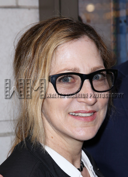 Edie Falco attends the Broadway Opening Night performance of 'The Father'  at The Samuel J. Friedman Theatre on April  14, 2016 in New York City.