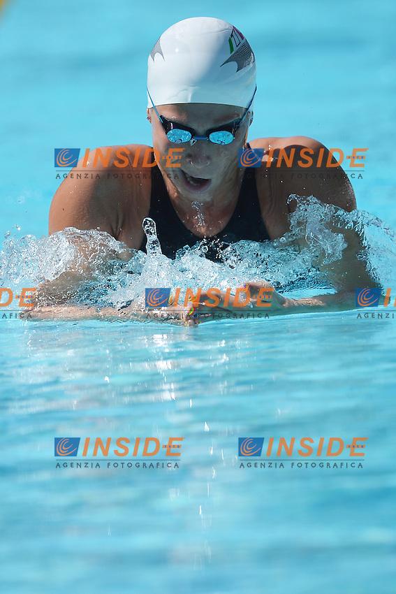 Stefania Pirozzi Italy 100m Backstroke Women.Roma 15/6/2012 Foro Italico.Nuoto Swimming 49mo trofeo settecolli.Foto Andrea Staccioli Insidefoto