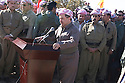 Iraq 2011.Ceremory for the bodies of Barzani killed by PUK brought to Jajok near Barzan: speech of Masoud Barzani.Irak 2011.Ceremonie a Jajok pres de Barzan du rapatriement des corps des Barzani tues par l'UPK: discours de Masoud Barzani