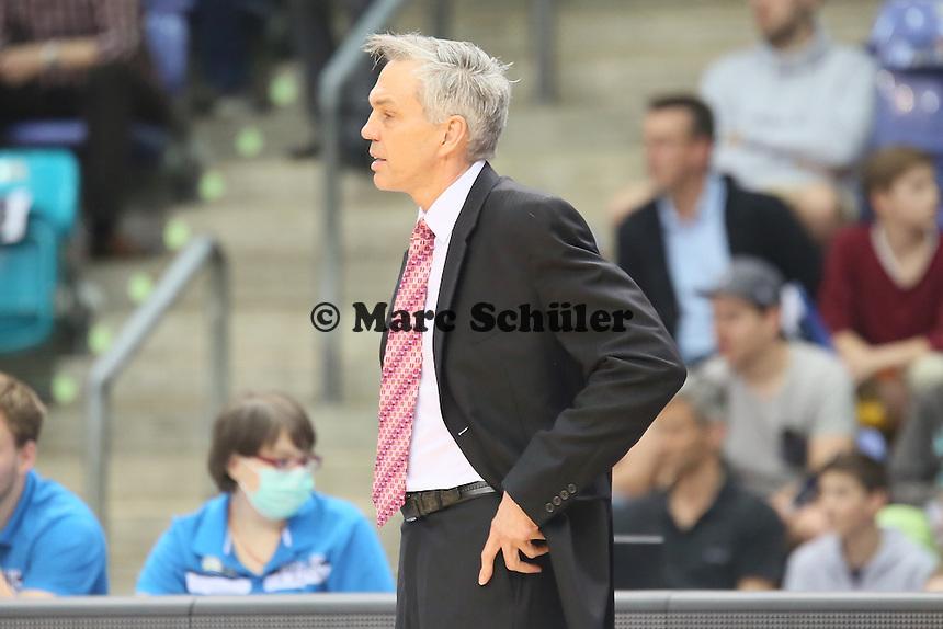 Trainer Gordon Herbert (Skyliners)  - Fraport Skyliners vs. medi Bayreuth, Fraport Arena Frankfurt