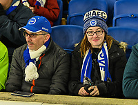 Brighton & Hove Albion fans<br /> <br /> Photographer David Horton/CameraSport<br /> <br /> The Premier League - Brighton and Hove Albion v Arsenal - Wednesday 26th December 2018 - The Amex Stadium - Brighton<br /> <br /> World Copyright © 2018 CameraSport. All rights reserved. 43 Linden Ave. Countesthorpe. Leicester. England. LE8 5PG - Tel: +44 (0) 116 277 4147 - admin@camerasport.com - www.camerasport.com