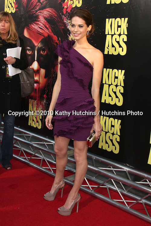 "Lyndsy Fonseca.arrives at  the ""Kick-Ass"" Premiere.ArcLight Dome Theater.Los Angeles, CA.April 13, 2010.©2010 Kathy Hutchins / Hutchins Photo..."