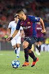 UEFA Champions League 2018/2019 - Matchday 1.<br /> FC Barcelona vs PSV Eindhoven: 4-0.<br /> Luis Suarez.