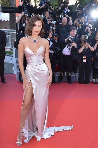 Bella Hadid at the Opening Movie &acute;Les Fantomes d Ismael` screening during The 70th Annual Cannes Film Festival on May 17, 2017 in Cannes, France.<br />