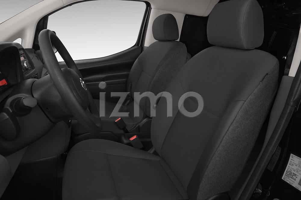 Front seat view of a 2014 Nissan NV 200 Cargo S 5 Door Van Front Seat car photos