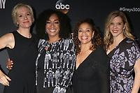 "LOS ANGELES - NOV 4:  Betsy Beers, Shonda Rhimes, Debbie Allen, Krista Vernoff at the ""Grey's Anatomy"" 300th Episode Event at Tao on November 4, 2017 in Los Angeles, CA"