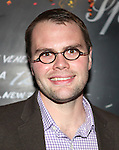 Playwright Samuel D. Hunter  attending the Opening Night Performance After Party for 'The Whale' at West Bank Cafe in New York City on 11/05/2012