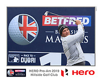 Ryan Fox (NZL) on the 10th tee during the Pro-Am of the Betfred British Masters 2019 at Hillside Golf Club, Southport, Lancashire, England. 08/05/19<br /> <br /> Picture: Thos Caffrey / Golffile<br /> <br /> All photos usage must carry mandatory copyright credit (&copy; Golffile | Thos Caffrey)