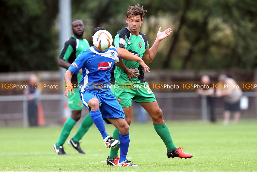 Craig Robson of Dagenham during Bedford Town vs Dagenham & Redbridge, Friendly Match Football at The Eyrie on 15th July 2017