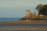 Balcary Tower and Balcary Bay, Auchencairn, Galloway<br /> <br /> Copyright www.scottishhorizons.co.uk/Keith Fergus 2011 All Rights Reserved