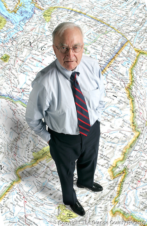 Photo Illustration of Bob Potter, Director of the Inland Northwest Economic Alliance recruits business's to move to tne northwest United States.