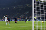 Luis Muriel of Atalanta has this penalty saved by Samir Handanovic of Inter during the Serie A match at Giuseppe Meazza, Milan. Picture date: 11th January 2020. Picture credit should read: Jonathan Moscrop/Sportimage