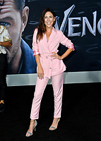 LOS ANGELES, CA. October 01, 2018: Joslyn Davis at the world premiere for &quot;Venom&quot; at the Regency Village Theatre.<br /> Picture: Paul Smith/Featureflash
