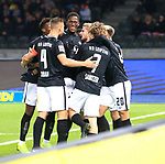 03.11.2018, OLympiastadion, Berlin, GER, DFL, 1.FBL, Hertha BSC VS. RB Leipzig, <br /> DFL  regulations prohibit any use of photographs as image sequences and/or quasi-video<br /> <br /> im Bild 0: 1 durch Timo Werner (RB Leipzig #11),)<br /> <br />       <br /> Foto © nordphoto / Engler