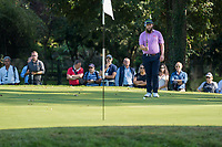 Andrew Johnston (ENG) in action on the 8th hole during the third round of the 76 Open D'Italia, Olgiata Golf Club, Rome, Rome, Italy. 12/10/19.<br /> Picture Stefano Di Maria / Golffile.ie<br /> <br /> All photo usage must carry mandatory copyright credit (© Golffile | Stefano Di Maria)