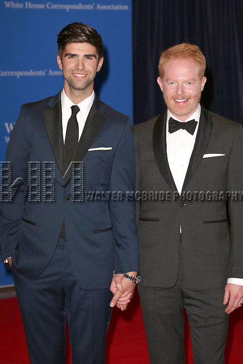 Justin Mikita and Jesse Tyler Ferguson attends the 100th Annual White House Correspondents' Association Dinner at the Washington Hilton on May 3, 2014 in Washington, D.C.