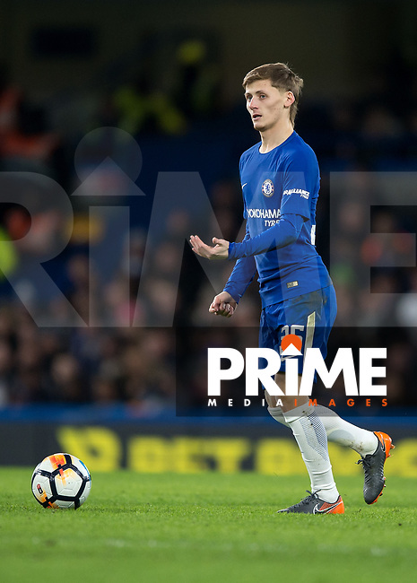Kyle Scott of Chelsea during the FA Cup 5th round match between Chelsea and Hull City at Stamford Bridge, London, England on 16 February 2018. Photo by Vince  Mignott / PRiME Media Images.