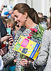 11.02.2015, Margate; UK: KATE, DUCHESS OF CAMBRIDGE _ &quot;Gift For A Baby Girl&quot;<br /> Patron, National Portrait Gallery, visited Turner Contemporary, Margate.<br /> A pregnant Kate who is expected to delivery her second child next month, visited the 'Self: Image and Identity' exhibition which includes the last self-portrait by Sir Anthony Van Dyck, recently acquired for the nation by the National Portrait Gallery through a public appeal with The Art Fund. She also toured the gallery and  met artists whose works are in the exhibition.<br /> MANDATORY PHOTO CREDIT: &copy;Dias/NEWSPIX INTERNATIONAL<br /> <br /> (Failure to credit will incur a surcharge of 100% of reproduction fees)<br /> <br /> **ALL FEES PAYABLE TO: &quot;NEWSPIX  INTERNATIONAL&quot;**<br /> <br /> Newspix International, 31 Chinnery Hill, Bishop's Stortford, ENGLAND CM23 3PS<br /> Tel:+441279 324672<br /> Fax: +441279656877<br /> Mobile:  07775681153<br /> e-mail: info@newspixinternational.co.uk