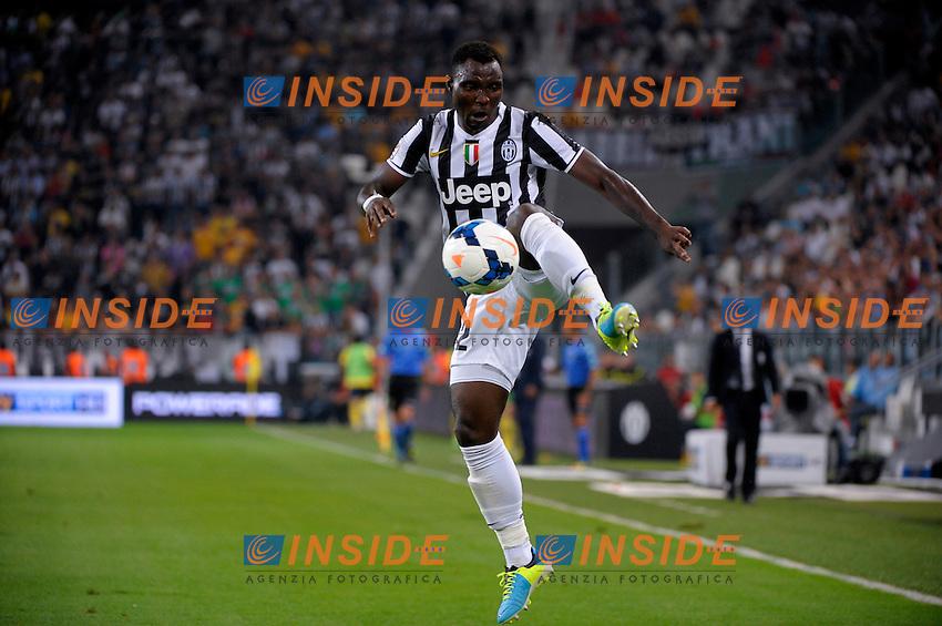 Kwadwo Asamoha Juventus<br /> Torino 31-08-2013 Juventus Stadium<br /> Football Calcio 2013/2014 Serie A<br /> Juventus Vs Lazio<br /> Foto Federico Tardito Insidefoto