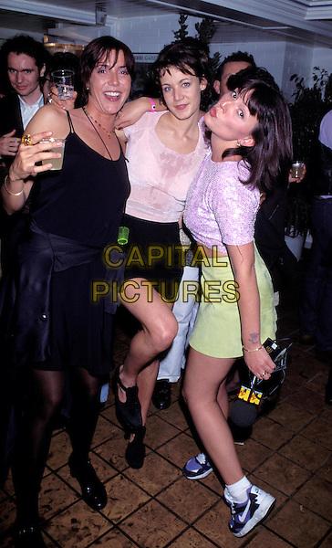DAVINA MCCALL & EMILY LLOYD.Ref: 1240.www.capitalpictures.com.sales@capitalpictures.com.©Capital Pictures