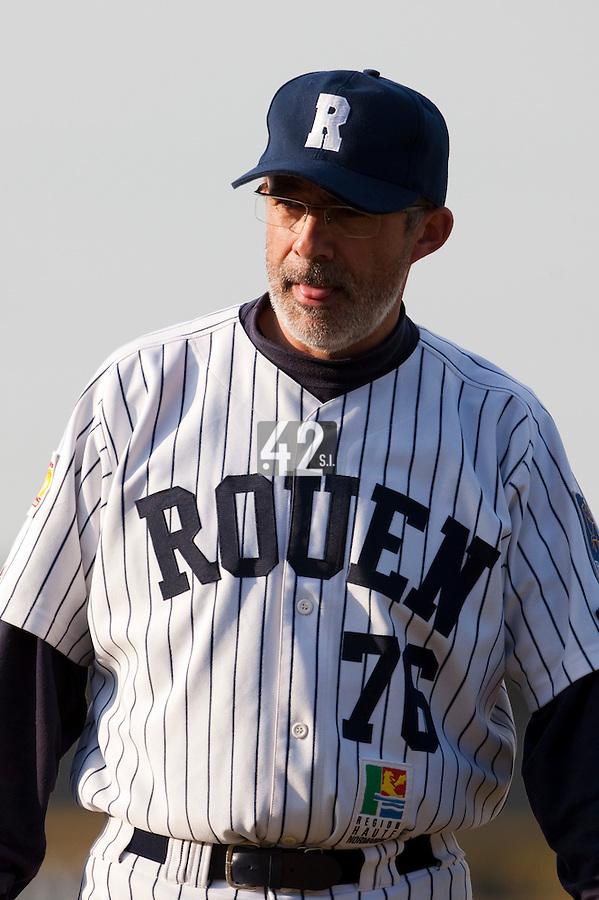 Baseball - European Cup 2009 - Anzio (Italy) - 04/04/2009 - Danesi Caffe' Nettuno v Rouen Baseball '76 - Francois Colombier