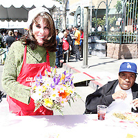 April 2, 2010: Kate Linder at the LA Mission Easter Luncheon event for the homeless in Los Angeles, California. .Photo by Nina Prommer/Milestone Photo.