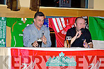 Pictured at the evening with John Aldridge in Ballyroe on Thursday night