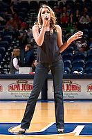 SAN ANTONIO, TX - FEBRUARY 2, 2008: The Texas A&M University Corpus Christi Islanders vs. The University of Texas at San Antonio Roadrunners Women's Basketball at the UTSA Convocation Center. (Photo by Jeff Huehn)