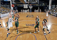 Florida International University guard Fanni Hutlassa (10) plays against Stetson University in the first round of the NIT.  FIU won the game 75-47 on March 15, 2012 at Miami, Florida. .