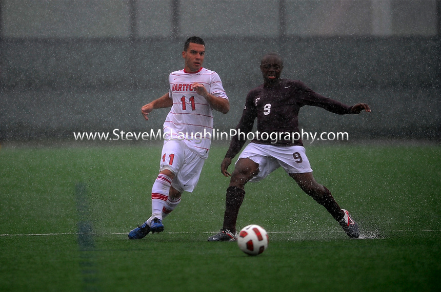Uhart Soccer vs. Fordham - ruled no contest after rain stopped play with about 30 minutes left in the second half.