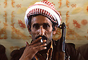 Iran 1979.Portrait of a peshmerga in Ziweh