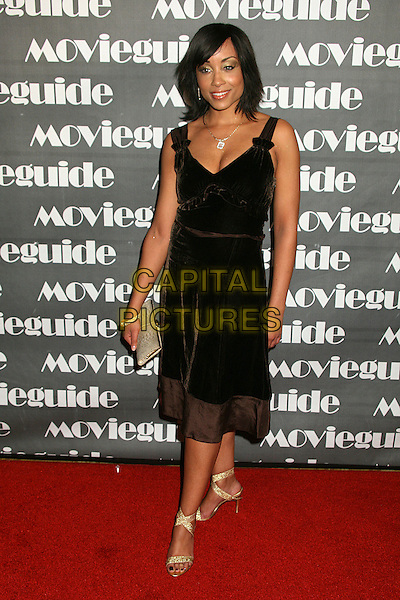SHELLI BOONE.15th Annual Faith & Values Movieguide Awards at the Beverly Wilshire Hotel, Beverly Hills, California, USA..February 20th, 2007.full length black dress.CAP/ADM/BP.©Byron Purvis/AdMedia/Capital Pictures