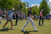 Jimmy Walker (USA) heads down 10 during Round 2 of the Zurich Classic of New Orl, TPC Louisiana, Avondale, Louisiana, USA. 4/27/2018.<br /> Picture: Golffile | Ken Murray<br /> <br /> <br /> All photo usage must carry mandatory copyright credit (&copy; Golffile | Ken Murray)