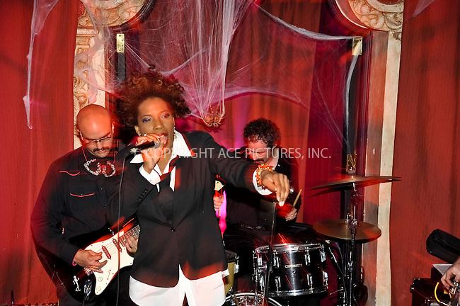 WWW.ACEPIXS.COM . . . . . ....October 30 2009, LA....Singer Macy Gray performing at Bardot on October 30 2009 in Hollywood, LA....Please byline: JOE WEST- ACEPIXS.COM.. . . . . . ..Ace Pictures, Inc:  ..(646) 769 0430..e-mail: info@acepixs.com..web: http://www.acepixs.com