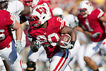 Wisconsin Badgers running back James White (20) carries the ball during an NCAA college football game against the Minnesota Golden Gophers on October 9, 2010 at Camp Randall Stadium in Madison, Wisconsin. The Badgers beat the Golden Gophers 41-23. (Photo by David Stluka)