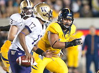 November 2nd, 2012: California Football vs Washington Huskies at Memorial Stadium, Berkeley, Ca Washington defeated California 21 -13